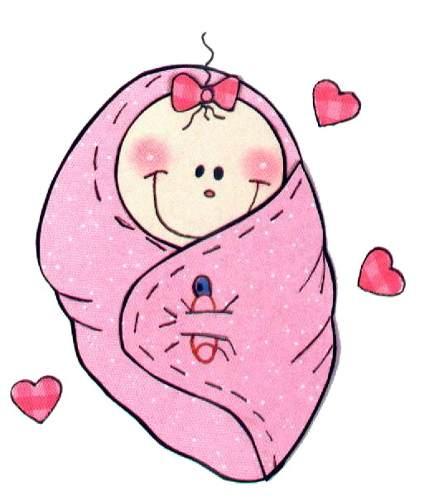 Dibujo de bebe baby shower para imprimir - Dibujos pared bebe ...