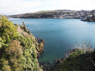 View from Fowey Cornwall
