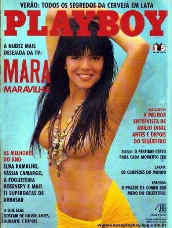 Mara Maravilha - Playboy 1990