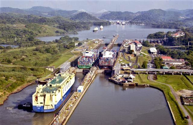 Se celebró centenario re apertura canal Panamá