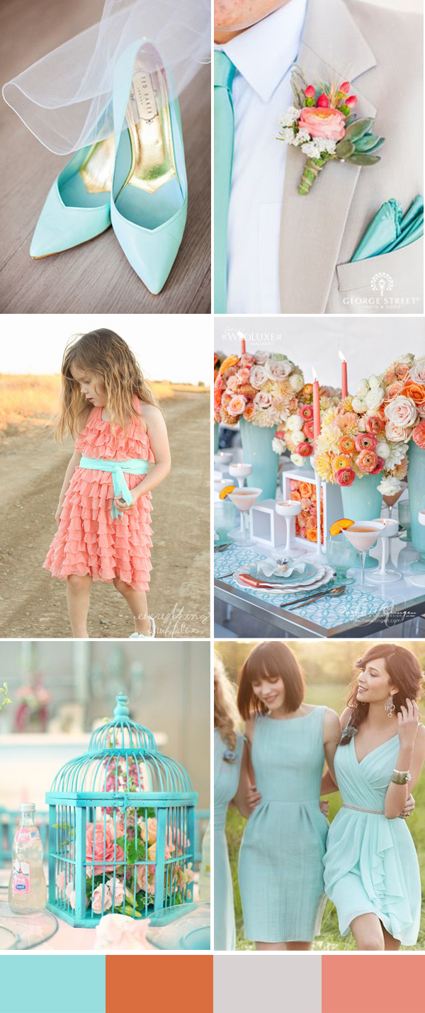 Calgary wedding blog: Top 10 Wedding Colors for Spring 2016