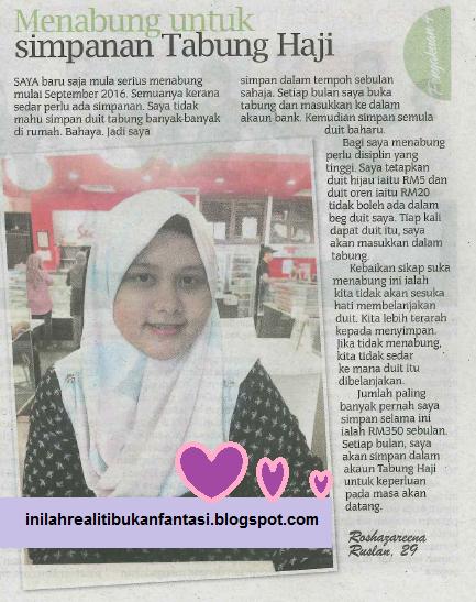 Cik Rose di Akhbar Sinar Harian