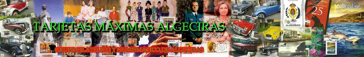 TARJETAS MÁXIMAS ALGECIRAS