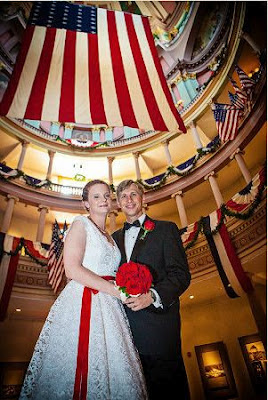 St Louis Old Courthouse Wedding