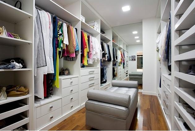 Guarda roupa modulado ou planejado ap em decora o for Modelos de zapateras para closets