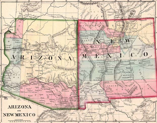 the us congress attempted to invalidate the csa claim to this territory by creating its own arizona territory in february 1863 by dividing new mexico along