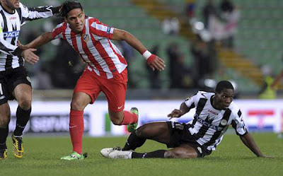 Udinese 2 - 0 Atletico Madrid (2)