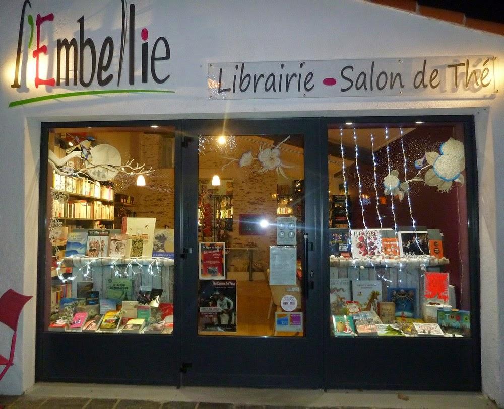 L 39 embellie librairie salon de th bient t no l - Salon de the librairie ...
