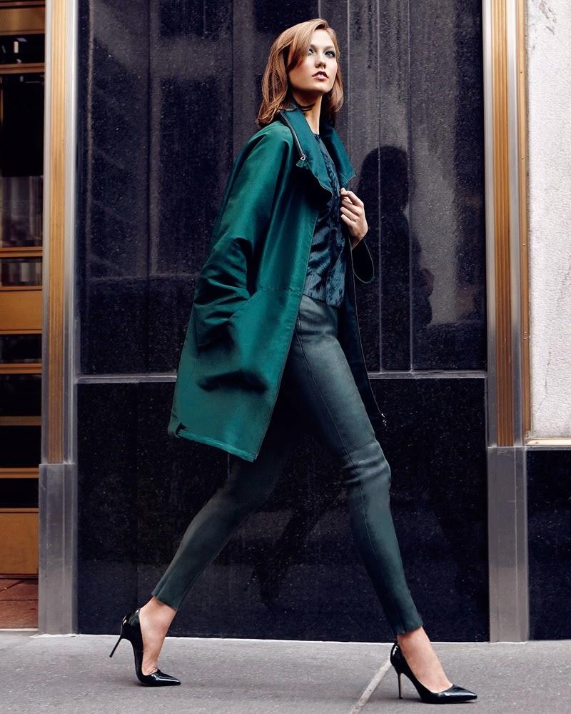 Karlie Kloss for Neiman Marcus Shoot