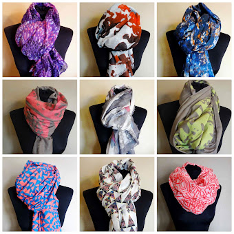 School Gate Style Scarf Shop