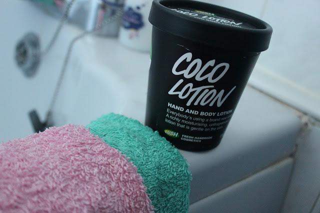 lush cosmetics coco lotion
