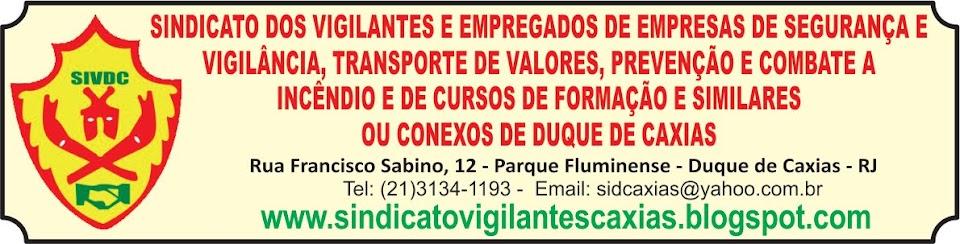 SINDICATO DOS VIGILANTES DE DUQUE DE CAXIAS
