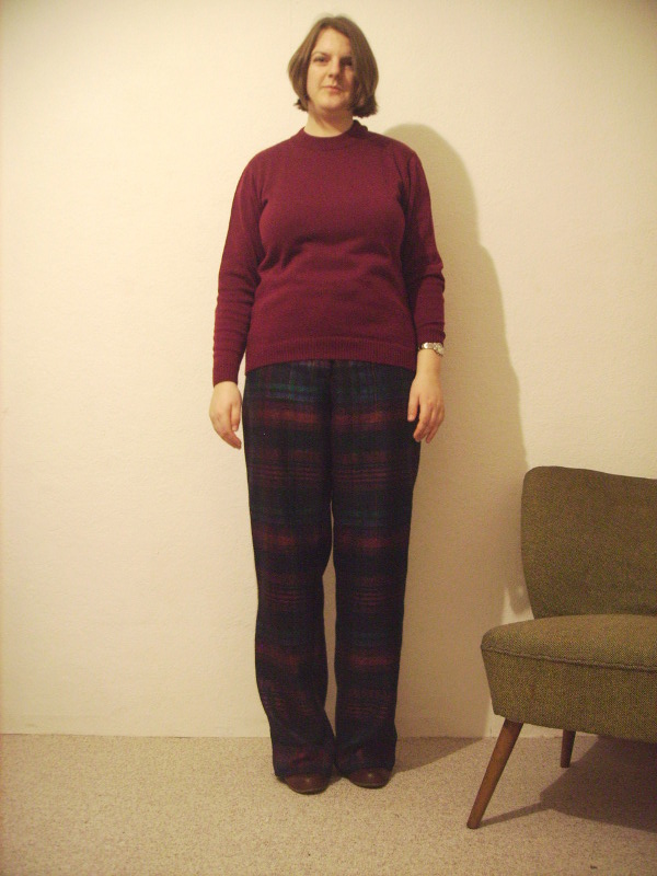 Hose mit weitem Bein aus der Burda, Wide leg trousers from Burda magazine