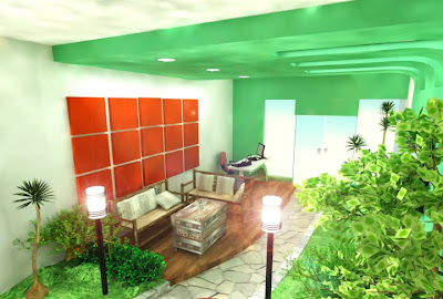 interior artificial landscape designs