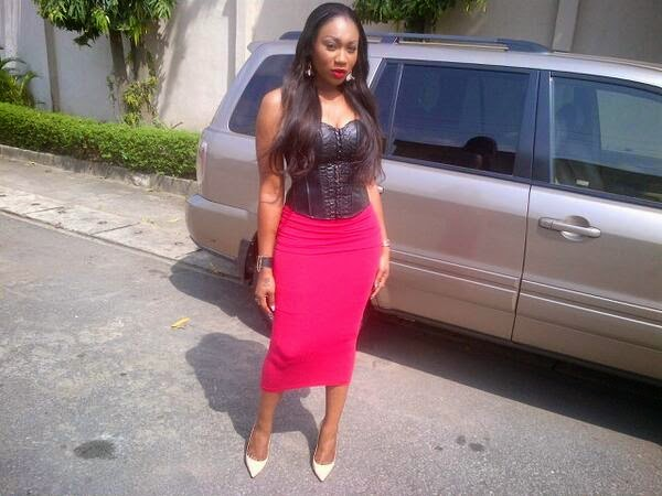 Images of Ebube Nwagbo Looking Glamorous