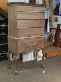 Walnut Furniture Chest of Drawers