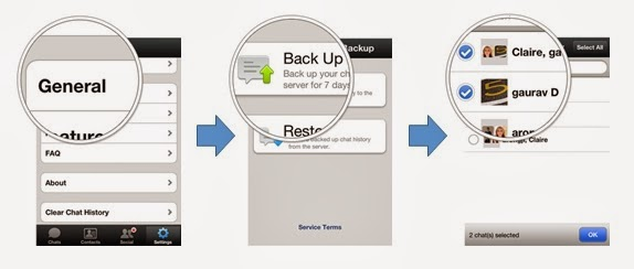 How to back-up WeChat Data step-by-steps