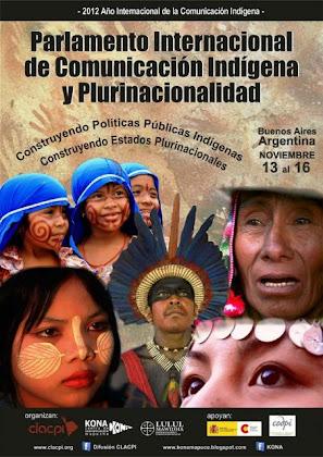 Parlamento Internacional de Comunicación Indígena y Plurinacionalidad