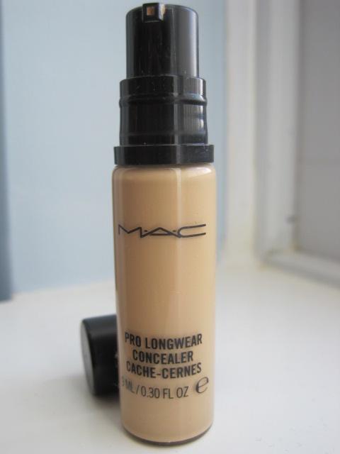 how to use mac pro longwear concealer