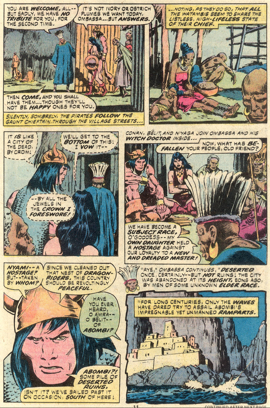 Conan the Barbarian (1970) Issue #94 #106 - English 8