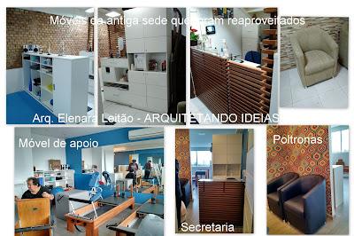 Estúdio de Pilates - Projeto Arq. Elenara Leitão