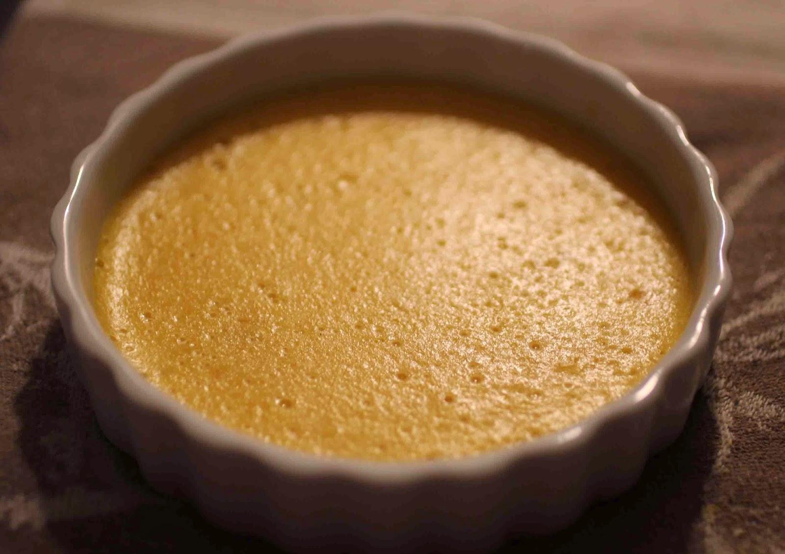 Crèmes brûlées à l'abricot