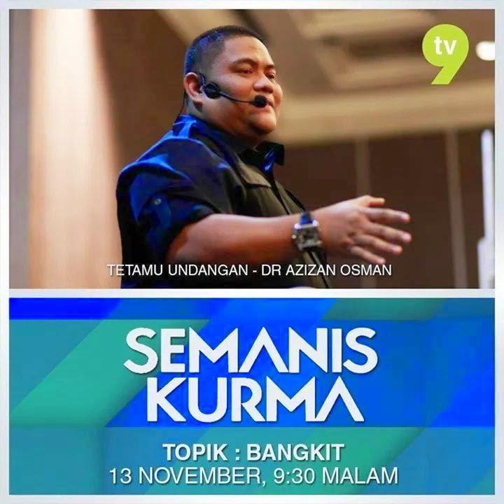 BANGKIT Semanis Kurma bersama Dr Azizan Osman