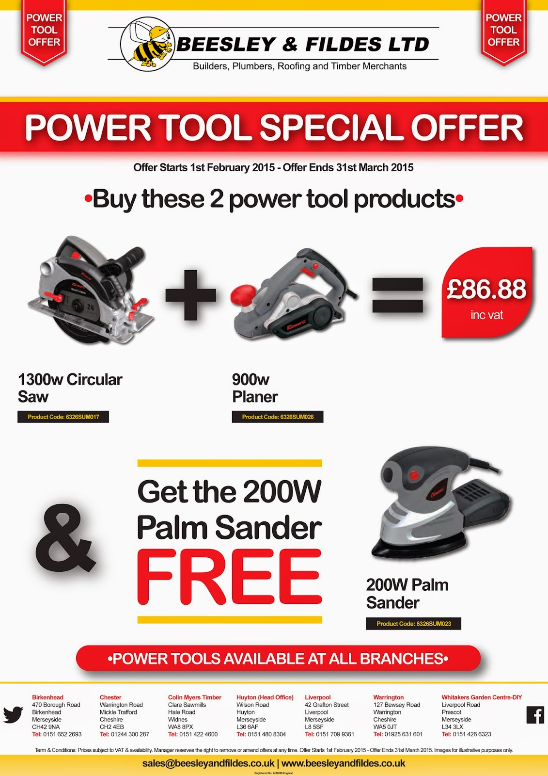 Power Tool Promo Pack 3