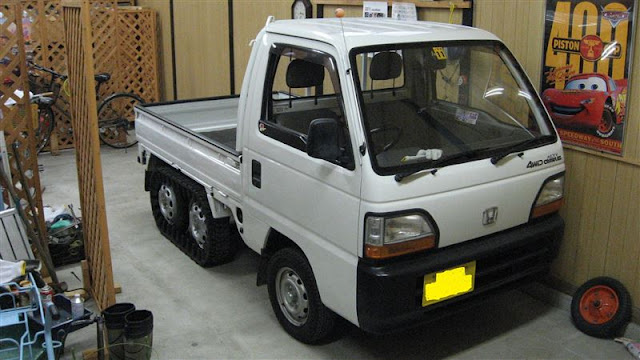 Honda Acty Crawler, samochody JDM, ciekawe