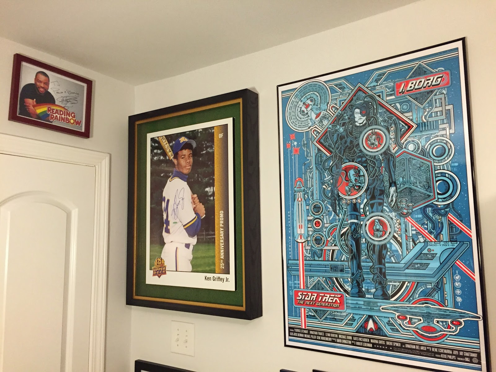 That Star Trek Poster Is Going Away Soon Though To Make Room For Something Else Completely Awesome And Griffey Related