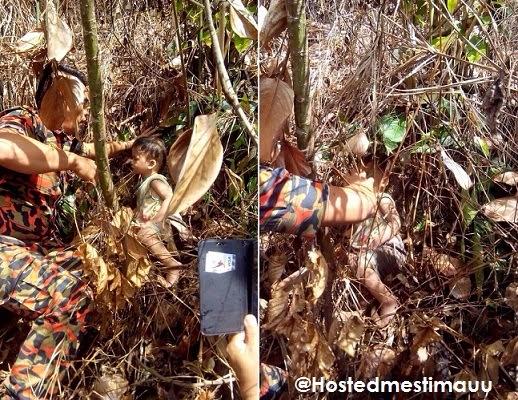 5 Gambar Misteri budak 2 tahun boleh bermalam di dalam hutan