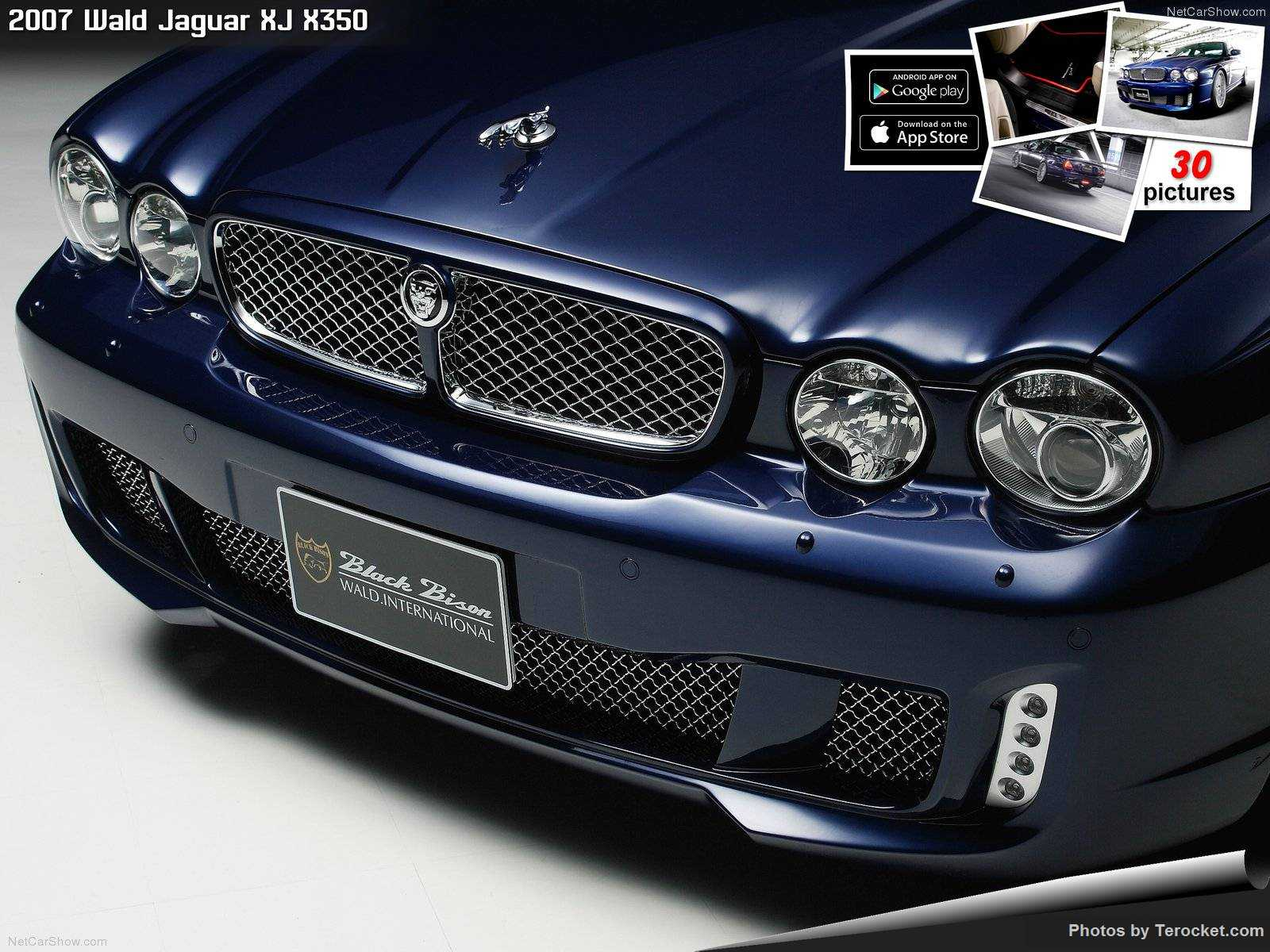 Hình ảnh xe độ Wald Jaguar XJ X350 2007 & nội ngoại thất