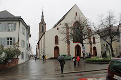 22:15/4-12 Sveitsiin. Baseliin ja siellä Botaniskassa.