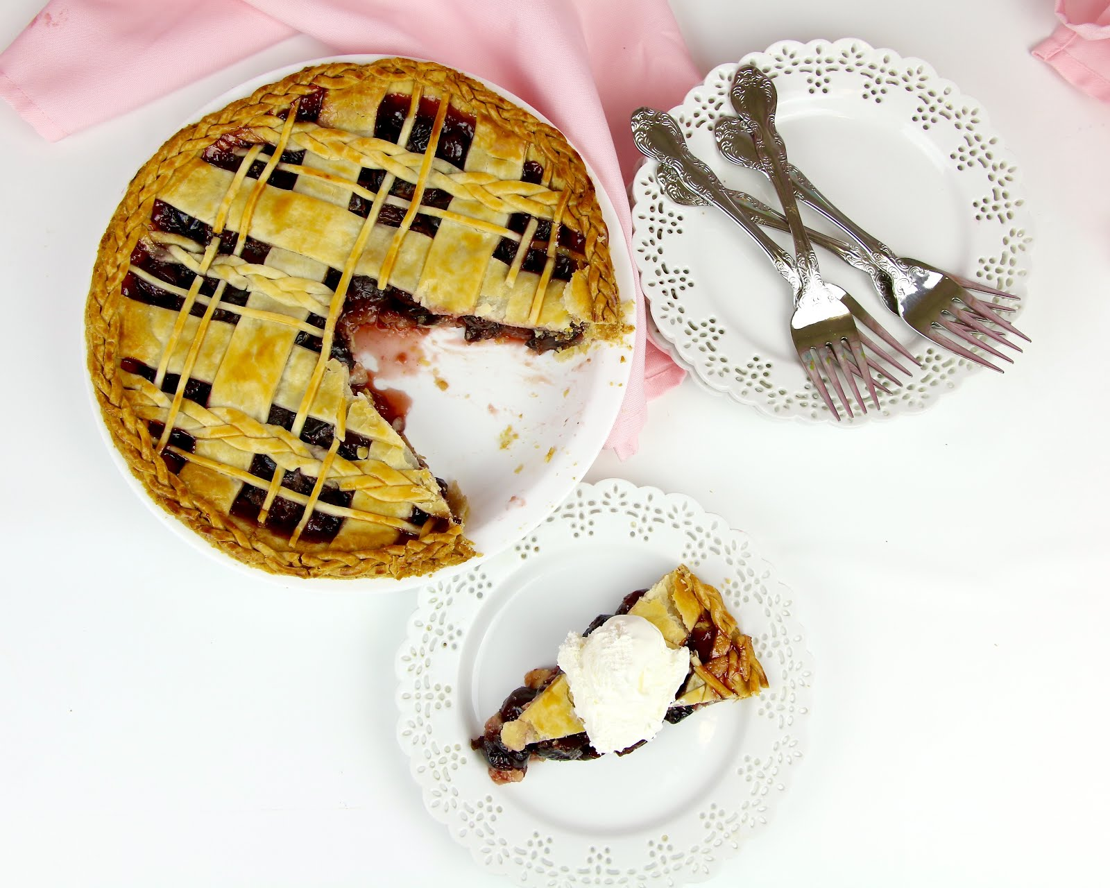 If you love this recipe you are going to love the rest of my Pie Week videos so be sure to check those out too just in time for the holidays! & VIDEO THE BEST Easy Sweet Cherry Pie with Braided Lattice Top ...