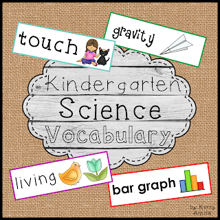 https://www.teacherspayteachers.com/Product/Christmas-in-July-Kindergarten-Science-Vocabulary-Cards-660186