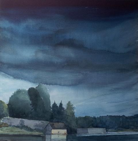 Watercolor ma non solo casa sul lago for Casa sul lago a 2 piani
