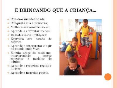 Frases Sobre O Brincar Na Educação Infantil