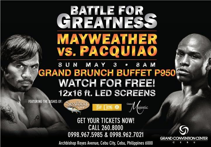 Pacquiao-vs-Mayweather-Grand-Convention-Center
