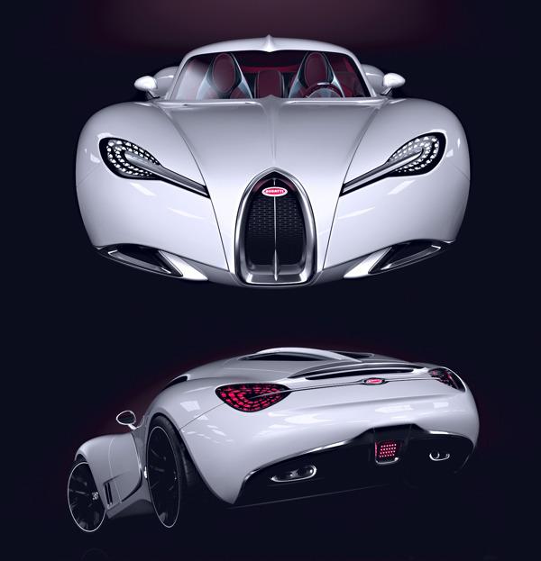 Elegant Delicieux Bugatti Gangloff Car Concept