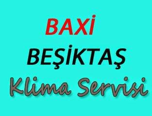 Baxi Beşiktaş Klima Servis