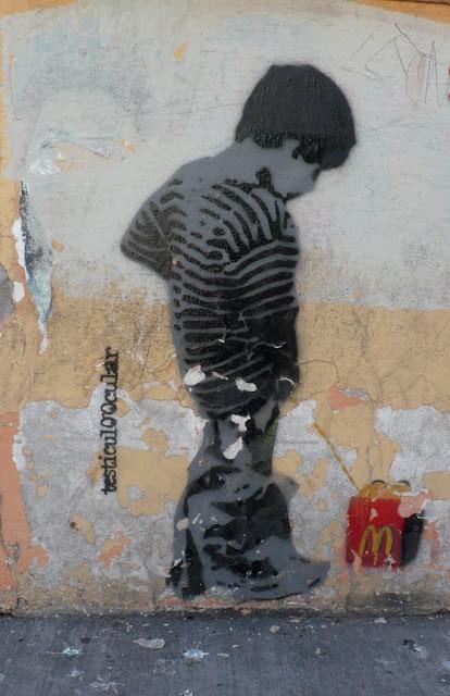 street art in santiago de chile barrio brasil arte callejero stencil