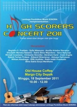 High Scorers Concert 2011