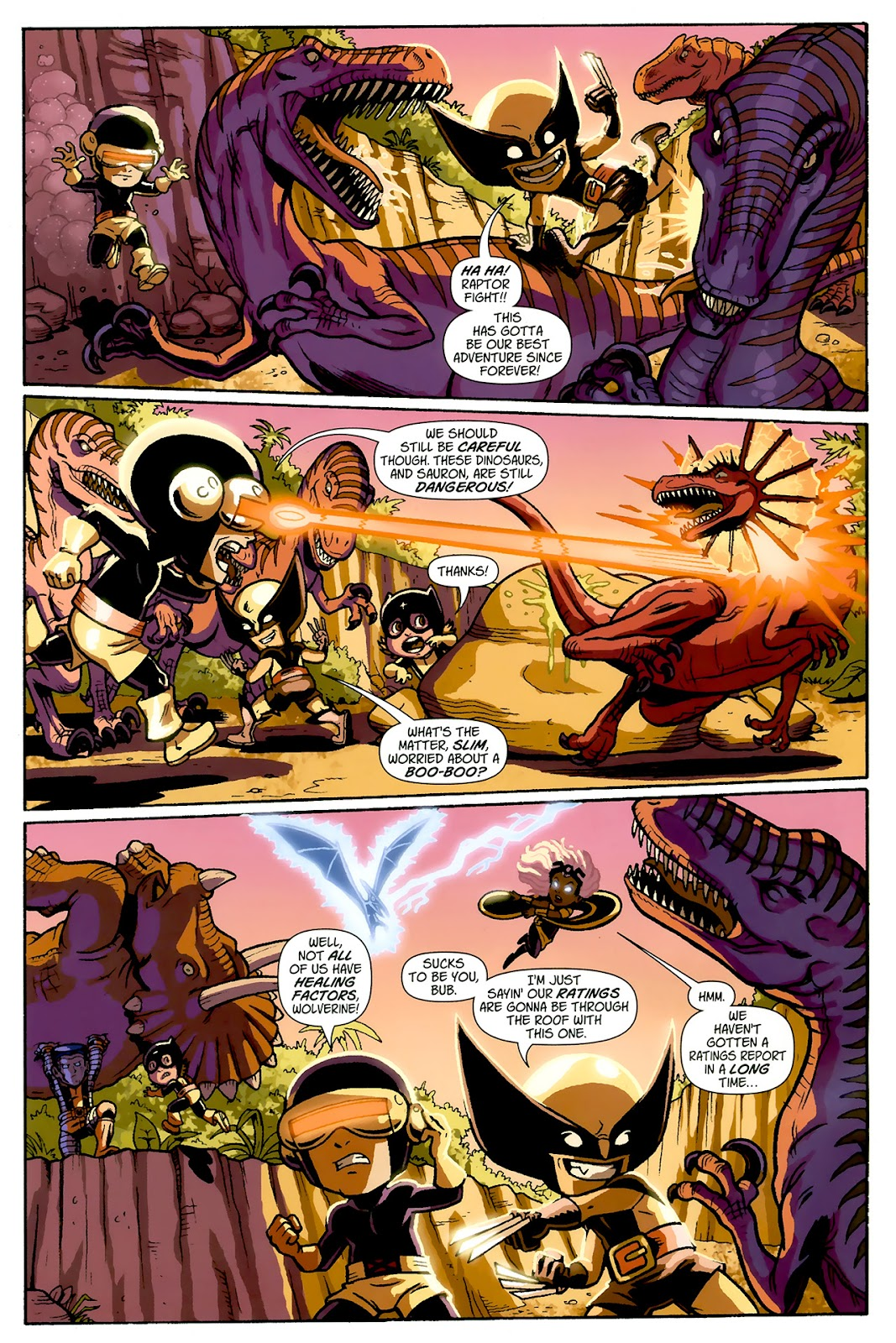 Read online X-Babies comic -  Issue #1 - 6