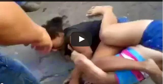 Pelea de Mujeres Cuanto golpes por 5 pesos