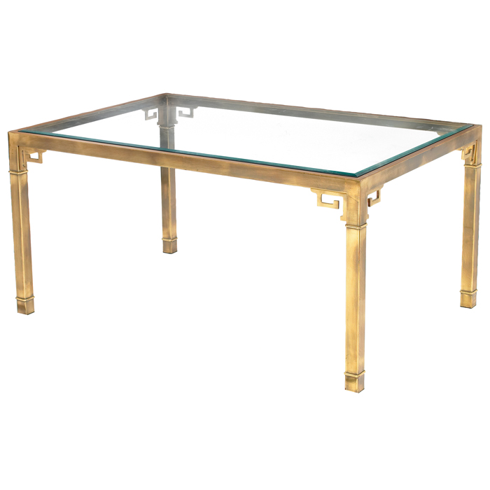 Sybaritic Spaces Mastercraft Brass Tables