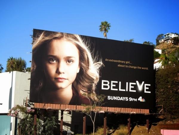 Believe NBC billboard