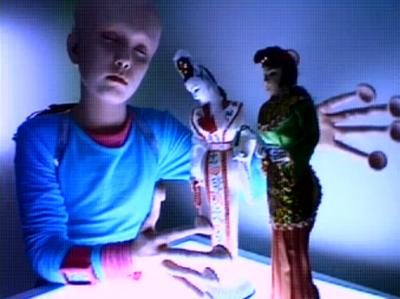 Little 90's alien girl. Sonic Youth Still / screenshot from Little Trouble Girl (1995)