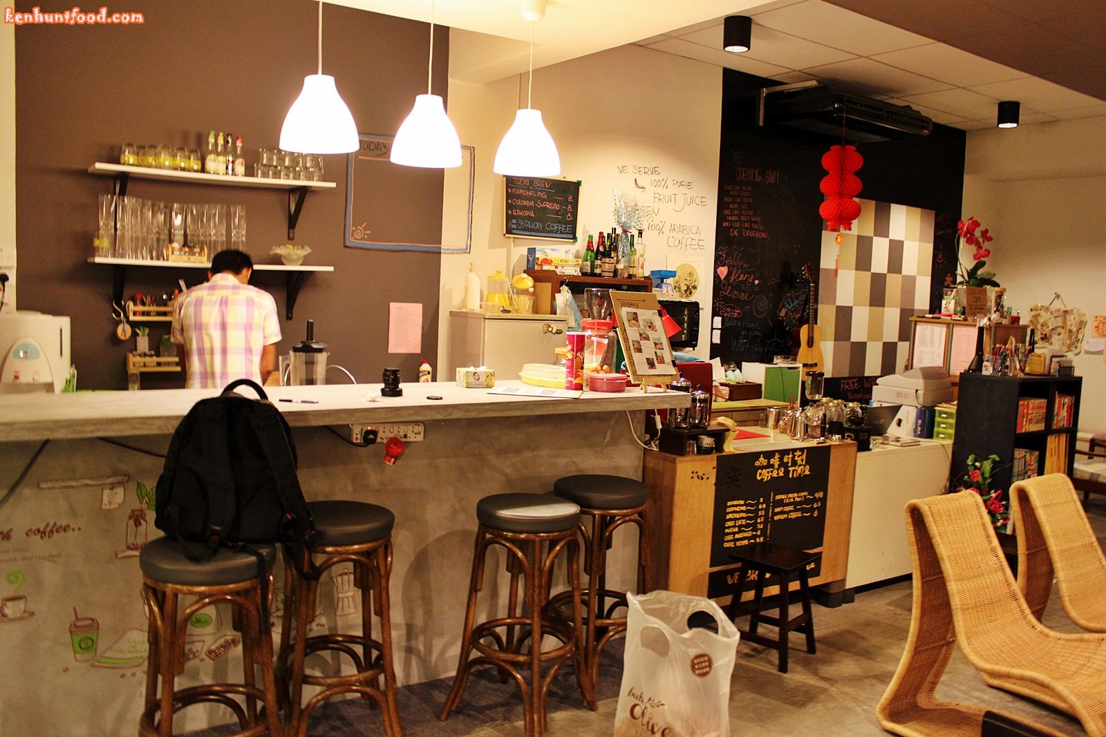 Yellow House Cafe Penang Menu