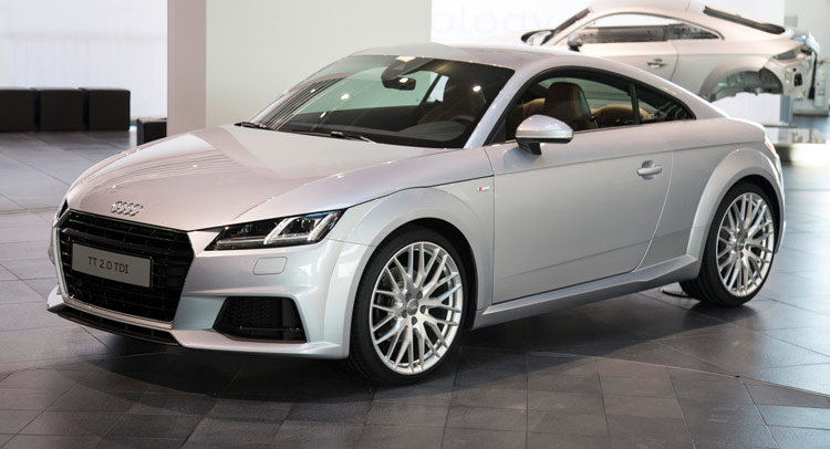 New Audi TT Priced from £29,770 to £35,335 in the UK