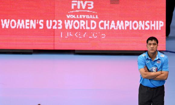 Thailand 3 ปู๊น! ปู๊น!_FIVB Volleyball Women's U23 World Championship 2015
